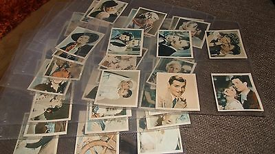 Godfrey Phillips - Shots From The Films F/s M48 Cigarette Cards & Sleeves - 1934