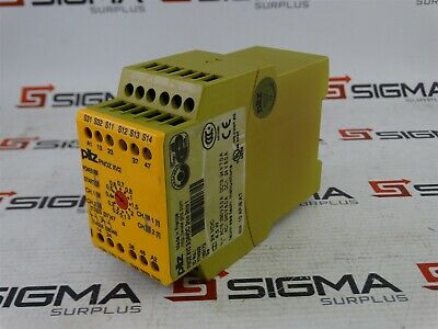 Pilz PNOZ XV2 30/24VDC 2n/o 2nn/o t Safety Relay