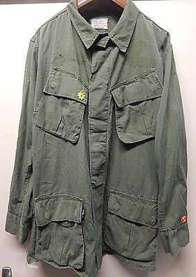 Vietnam War - Us Army - Combat Jacket - 3Rd Pattern. - 'in-Country' Decoration