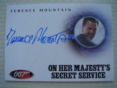 """James Bond """"In Motion"""" 2008 A84 Terence Mountain"""