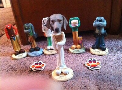 Doogies ~ Weimaraner Interchangeable Head For Doogie Figurines~Sold Seperately