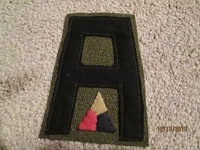 WWI US Army patch First 1st Army Tank Corps Patch AEF