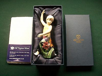 Old Tupton Ware Summer  Bouquet Girl  Figurine - Clara Dancing TW4495 Mint Boxed