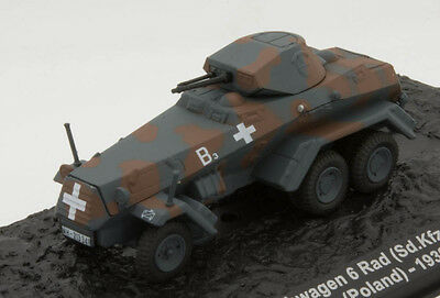 The Combat Tanks Collection (Issue 82) - SD.KFZ.231 (6-RAD) 4TH PANZER DIVISION