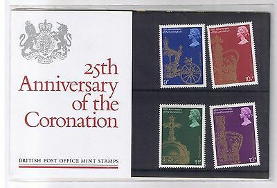 GB Presentation Pack 101 25th Anniversary of the Coronation 1978 10% OFF 5+