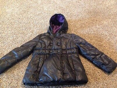 Cheerokee Girls Black Winter Jacket Size S (6/6X)