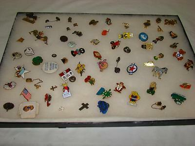 Vintage Pin Backs Lot of 67 Mixed Characters Advertising Clubs Awards