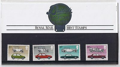 GB Presentation Pack 139 British Motor Cars 1982 10% OFF FOR ANY 5+