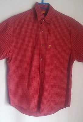 Timberland  button up t-shirt size xs
