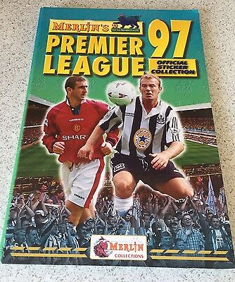Merlin's Official Sticker Collection -Premier League 1997 **FULL COLLECTION**