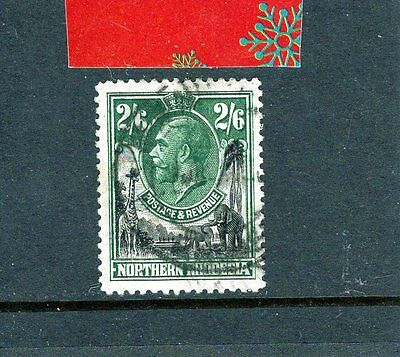 NORTHERN RHODESIA 1925 KGV , 2/6d  Fine Used