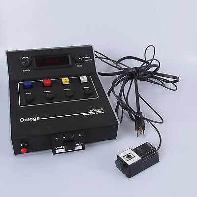 = Omega SCA-300 Digital Color Analyzer with Memory Module