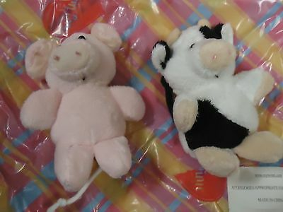 My Twinn  Doll Mini Moo And Oinklet Plush Pets Brand New 2 In Pack