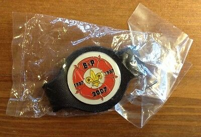 Scout commemorative leather woggle