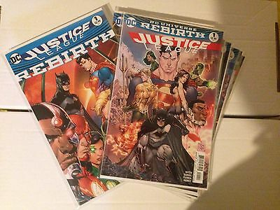 Justice League #1-7 & One-shot DC Rebirth NM