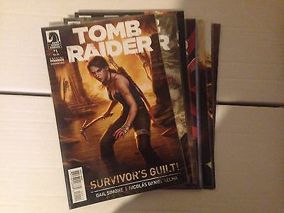 Tomb Raider #1-7 #9 Dark Horse