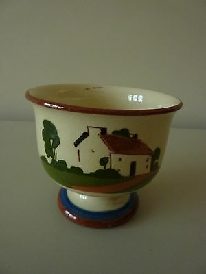 Torquay Motto Ware, Watcombe Pottery Footed Bowl