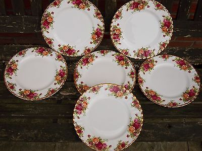 Royal Albert Old Country Roses Six Side Plates