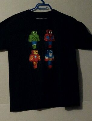 marvel superhero t-shirt xl kids