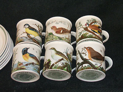 Portmeirion Coffee Set Featuring Birds Of Britain