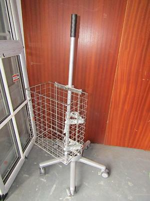 Small Medical Monitor Trolley With Basket
