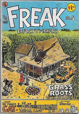 The Fabulous Furry Freak Brothers #5 (Gd)