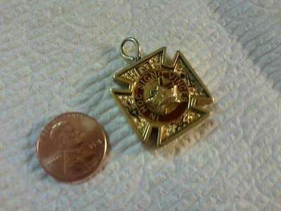 Real Nice Vintage Antique Victorian Edwardian Gold Filled Masonic Watch Fob