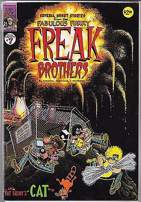 The Fabulous Furry Freak Brothers #7 (Vg/fn)