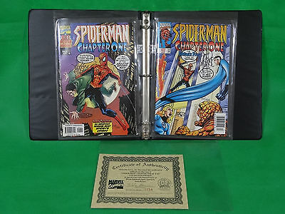 Spider-Man Chapter One Marvel Comics 1 & 2 Signed By John Byrne #154/1500