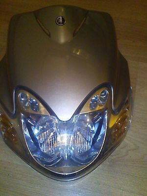 Yamaha Jog 50Cc Headlight With Front Panel (Silver)