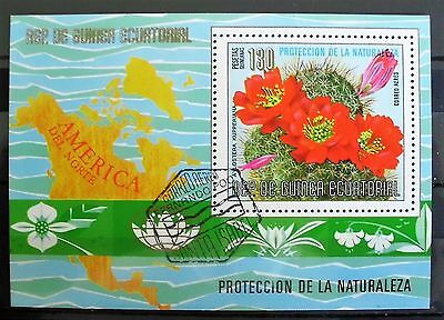 EQUATORIAL GUINEA - Protection of Nature  FLORA  CTO    # 170116