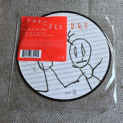 "7""   PICTURE DISC The Cure The End of the World / Fake  2004"