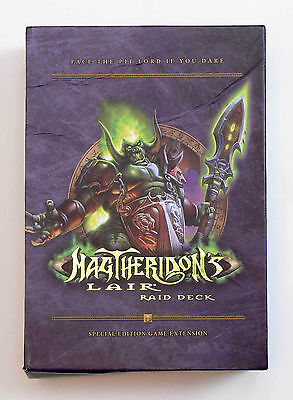 WOW Magtheridon's Lair Raid Deck World of Warcraft TCG Trading Card Game