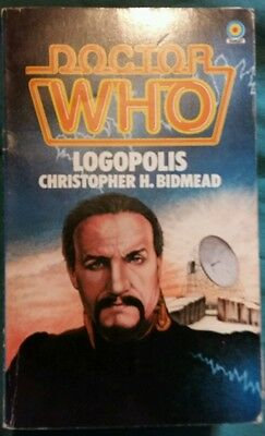 Doctor who target book signed Peter davison Anthony Ainley
