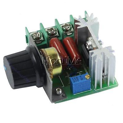 220V 2000W Speed Controller SCR Voltage Regulator Dimming Dimmers Thermostat MO