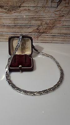 Antikes Collier/Halsreif Silber 925, Taxco Mexico, sehr massiv, um 1960/70