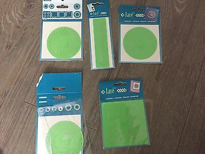 lace cutting template x 5 for card making/crafts/scrap booking