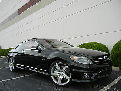 2008 Mercedes-Benz CL-Class AMG CL63 AMG Designo! Nightvision! Dynamic Seats!  Texas Car! Extra Clean! 518HP