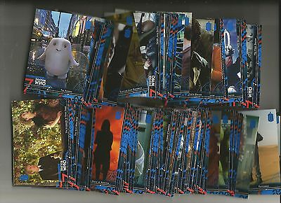 Dr. Who Extraterrestrial Encounters Blue Parallel Lot Of 75 Diff. #/99