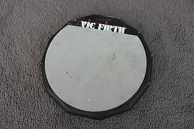 """Vic Firth PAD6D 6"""" Double Sided Snare Drum Practice Pad"""