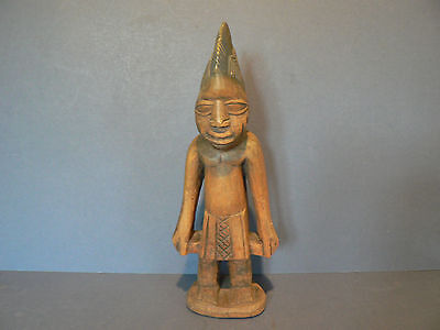 African Wood Carved Male Figure