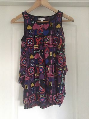 glrls m & s limited collection summer top age 11 years