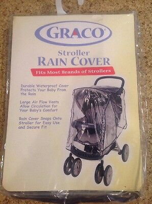 New Graco Stroller Rain Cover (Fits Most Brands of Strollers)