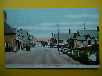 Street Scene BROADWATER Nr Worthing Sussex *Vintage* H A Foyster 1906