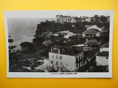General View Houses FUNCHAL Madeira - Canadian Pacific Cruise RP c1940s
