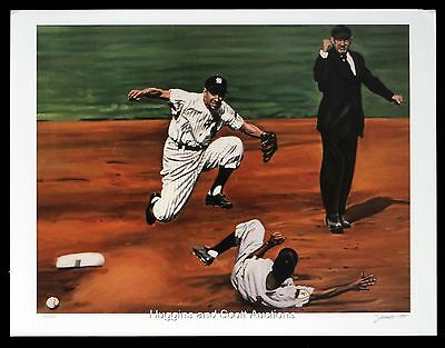 Phil Rizzuto Autographed Lithograph Mint NY New York Yankees Andy Jurinko