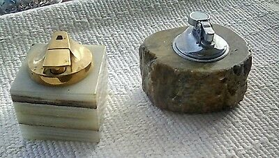 Vintage table cigarette lighters