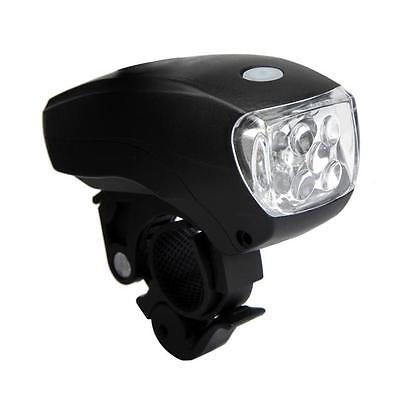Cycling Bike Bicycle Super Bright 5 LED Front Head Light Lamp 3-Modes Torch HOT