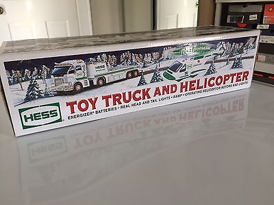 Hess Truck Toy Truck And Helicopter 2006