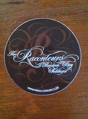 the Raconteurs sticker promo for Broken Boy Soldiers  cd Jack White cd 2006